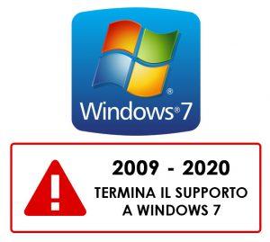 Windows 7 fine supporto tecnico